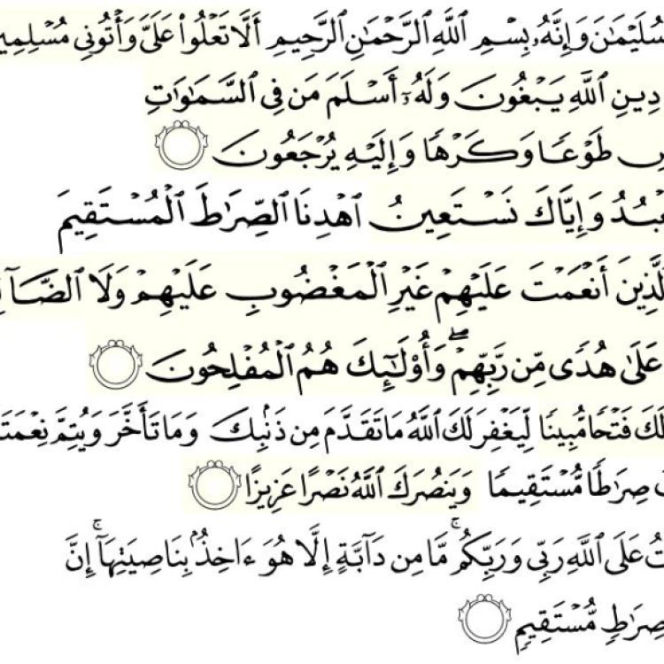 Powerful verses of Quran to counter bad habits